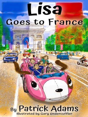 cover image of Lisa Goes to France