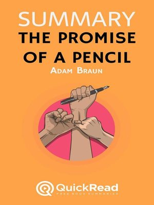 """cover image of Summary of """"The Promise of a Pencil"""" by Adam Braun"""