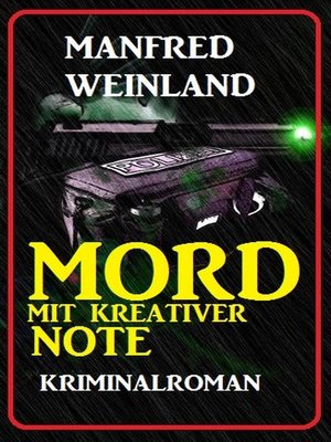 cover image of Mord mit kreativer Note