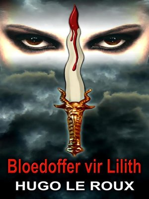 cover image of Bloedoffer vir Lilith