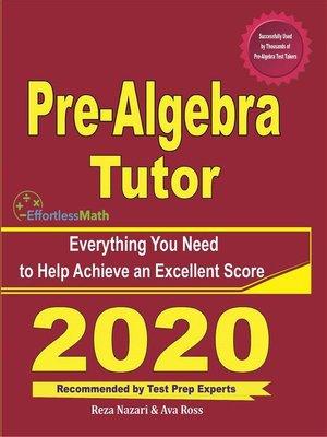 cover image of Pre-Algebra Tutor