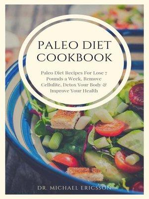 cover image of Paleo Diet Cookbook