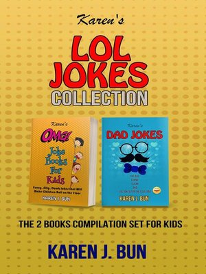 cover image of Karen's LOL Jokes Collection--The 2 Books Compilation Set For Kids