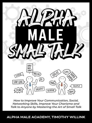cover image of Alpha Male Small Talk