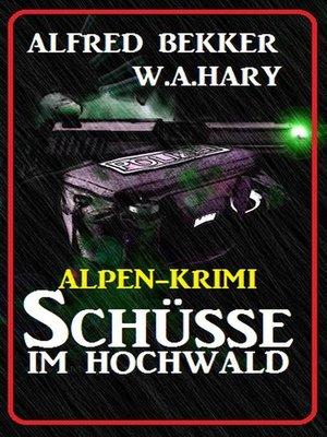 cover image of Alpen-Krimi