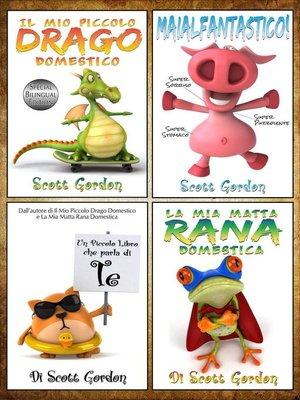 cover image of Quattro Fantastiche Storie della Buonanotte per Bambini di 3-5 anni
