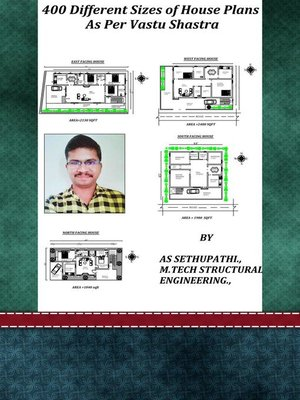 cover image of 400 Different Sizes of House Plans As Per Vastu Shastra