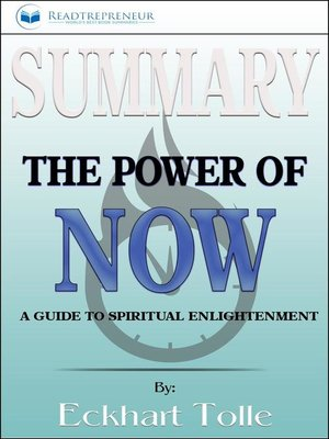cover image of Summary of the Power of Now