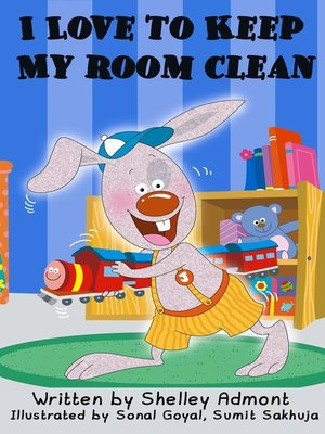 cover image of I Love to Keep My Room Clean
