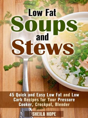 cover image of Low Fat Soups and Stews