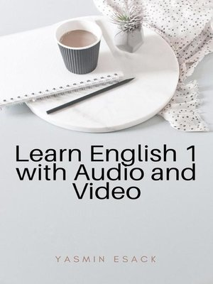 cover image of Learn English 1 with Audio and Video