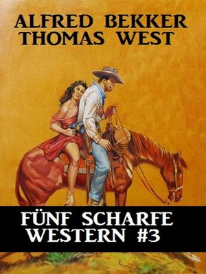 cover image of Fünf scharfe Western #3