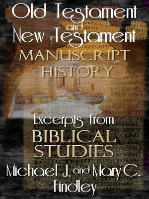 cover image of Old Testament and New Testament Manuscript History