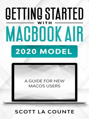 cover image of Getting Started With MacBook Air (2020 Model)