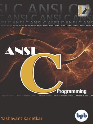 cover image of ANSI C Programming