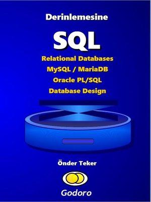 cover image of Derinlemesine SQL