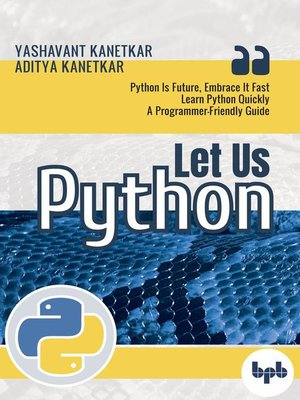 cover image of Let Us Python