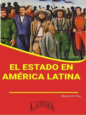 cover image of El Estado en América Latina