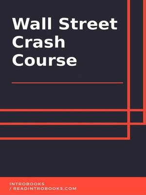 cover image of Wall Street Crash Course