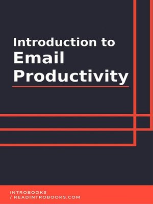 cover image of Introduction to Email Productivity