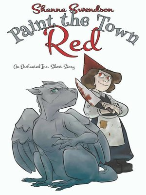 cover image of Paint the Town Red