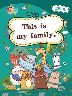 cover image of This is my Family.