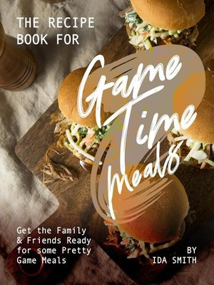 cover image of The Recipe Book for Game Time Meals