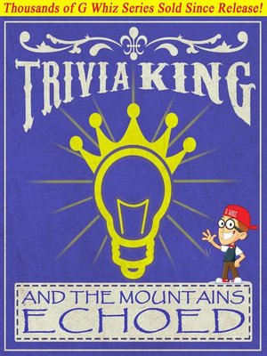 cover image of And the Mountains Echoed--Trivia King!