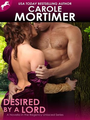 cover image of Desired by a Lord (Regency Unlaced 5)