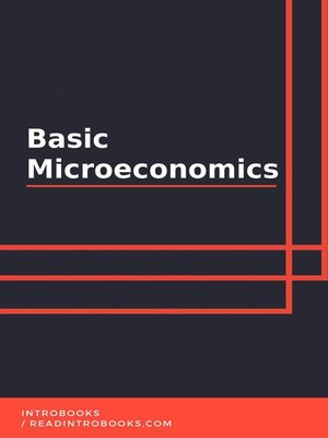 cover image of Basic Microeconomics