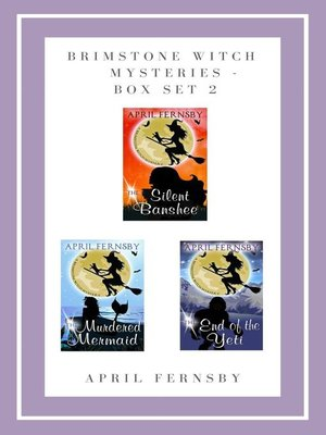 cover image of Brimstone Witch Mysteries--Box Set 2