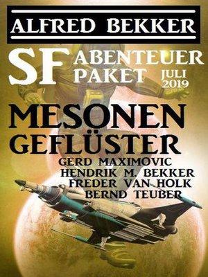 cover image of SF-Abenteuer Paket Juli 2019
