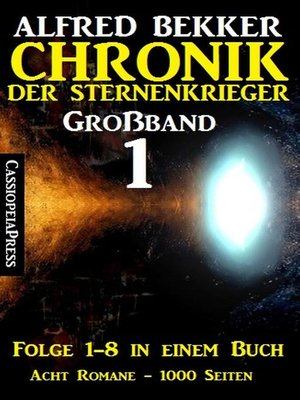 cover image of Großband #1--Chronik der Sternenkrieger (Folge 1-8)
