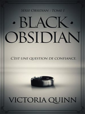 cover image of Black Obsidian (French)
