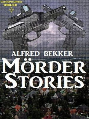 cover image of Mörder-Stories