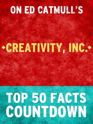 cover image of Creativity Inc