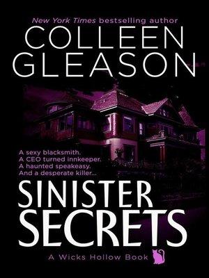 cover image of Sinister Secrets