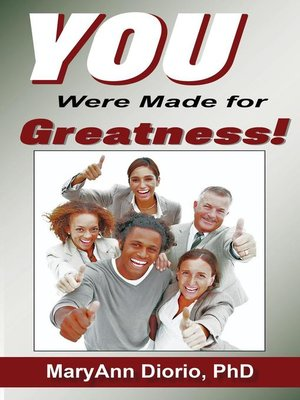 cover image of You Were Made for Greatness!