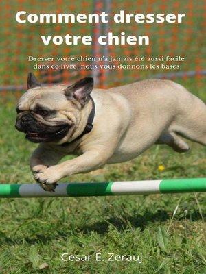 cover image of Comment dresser votre chien    Dresser votre chien n'a jamais été aussi facile dans ce livre, nous vous donnons les bases