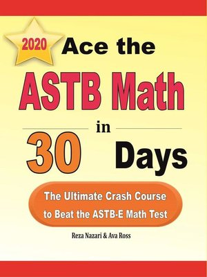 cover image of Ace the ASTB Math in 30 Days