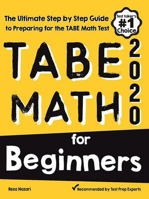 cover image of TABE Math for Beginners