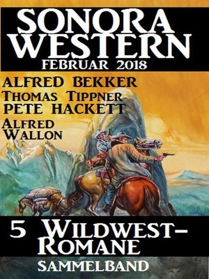 cover image of Sammelband 5 Wildwest-Romane