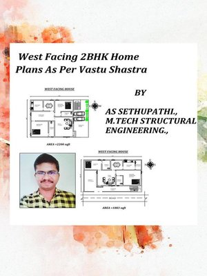 cover image of West Facing 2BHK Home Plans As Per Vastu Shastra