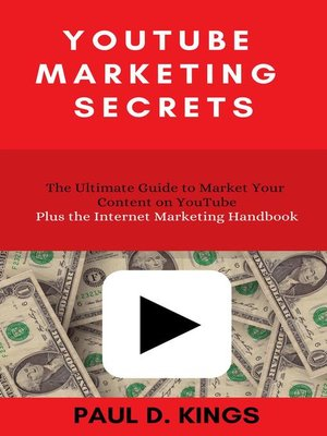 cover image of YouTube Marketing Secrets