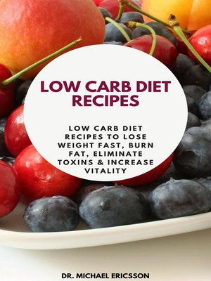 cover image of Low Carb Diet Recipes