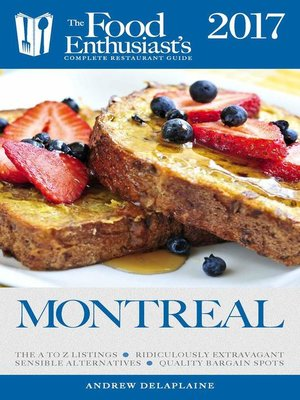 cover image of Montreal--2017