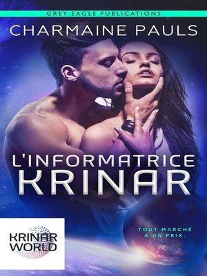 cover image of L'Informatrice Krinar
