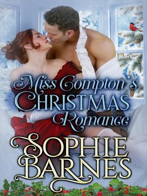 cover image of Miss Compton's Christmas Romance