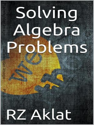 solving story problems with algebra