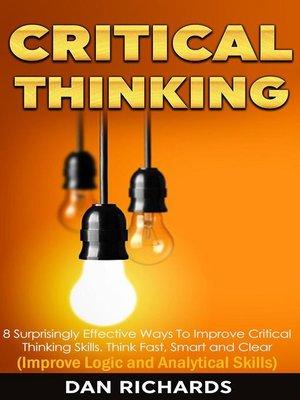 ways to improve critical thinking skills